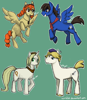 My Little.. Sky Pirates? by Wind21