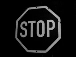 The stop sign by OddDot