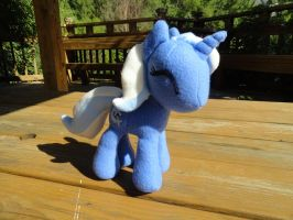 The Great and Powerful Trixie Plush MLP by adistresseddamsel