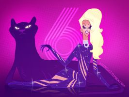 Rupaul's Drag Race Season 6 by reed682