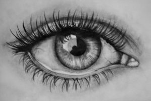 Eye Drawing by LeaKirkegaard