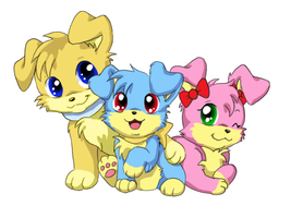 Inuko puppies by SirKittenpaws