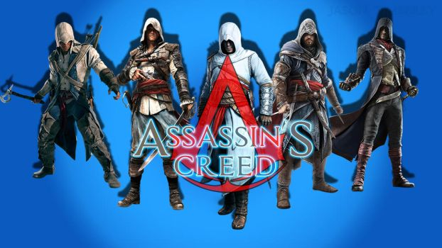 Assassin's Creed Wallpaper by JasonTimberly