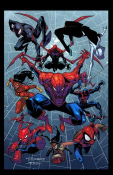 Khary Randolph Spider-Verse my colors. by JoeyVazquez