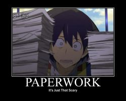 Everyone Hates Paperwork by lary6420