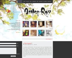 Website - Ashen Ray V by shilin