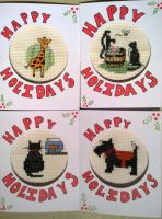 Christmas Card Collection by MistressJainali