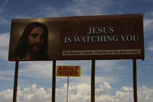 Jesus is Watching You by L-nay