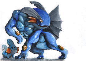 Swampert Coloured by Epifex