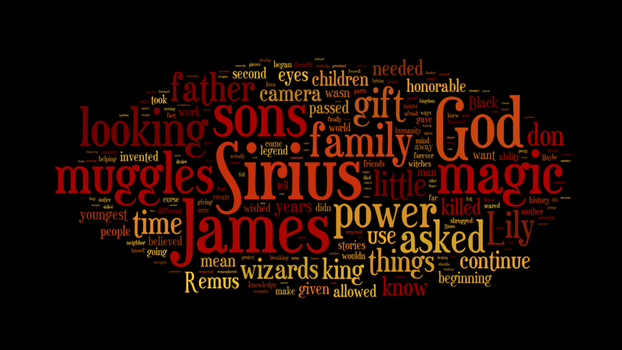 Wizarding: A History wordcloud by Evelynwn