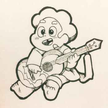 BABY STEVEN AND THE UKULELE by Stick2mate