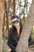 Masked Beauty 3 by Storms-Stock