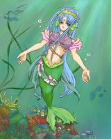 mermaid_princess by kaskachan