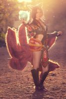Foxfire Ahri - Should I make your pulse rise? by xTouko
