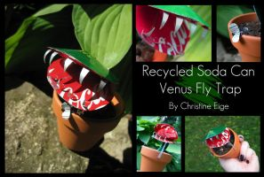 Soda Can Fly Trap - Full by Christine-Eige