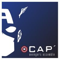 A Mask, A Hero - Cap' America by flexure