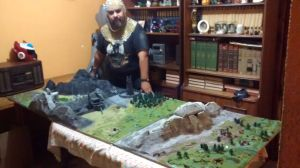 Lord of the Rings layout by piojote