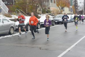 2014 Gobble Gobble Turkey Run, the Serious Pace by Miss-Tbones