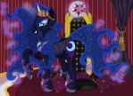 Nightmare Moon's Throne Collab by Shadowflashdabearded