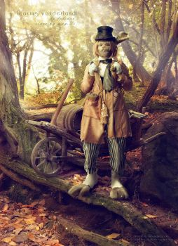 March Hare Leaving Wonderland by May--Li