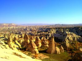 Fairy Chimneys by MertHakan