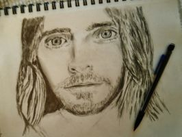 Jared Leto Sketch! by FireLady3