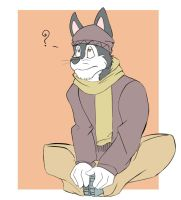 Artist Block Sit by vincentwolf