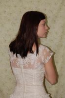 Old White Dress 7 by cyber-stock
