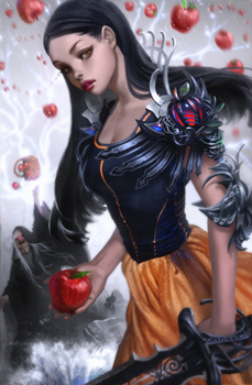 Snow White Warrior and the Wicked Witch by Caleb-Brown