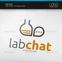 Lab Chat Logo by artnook