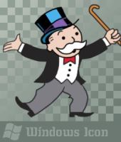 Rich Uncle Pennybags - Icon by ssx