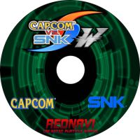 Capcom vs SNK -W- CD Cover by Dante909