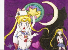 Sailor Moon Love by Loplovinglydia