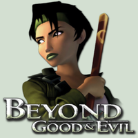 Beyond Good and Evil icon by v00d00m4n