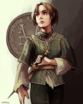 Arya Stark by say0ran