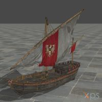 Redania ship from Witcher 2 by divinity1993