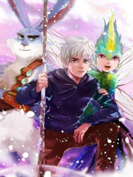 Rise of the Guardians by Athena-chan