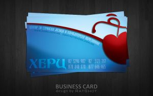 Herc Business Card by RatShot