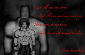 The Scars hold The Truth by Tenchin