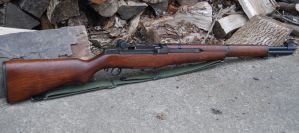 Springfield Armory M1 Garand - Korean War Era by PLutonius