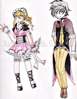 CHEAP Adoptable Maid and Butler by XDrawingWithSydneyX