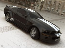 Mustang 2005 Scene Version 3 by Siregar3D