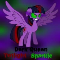 Dark Queen Twilight Sparkle by Kana-The-Drifter