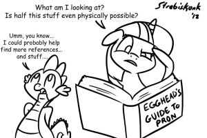 Doing Research by Strebiskunk