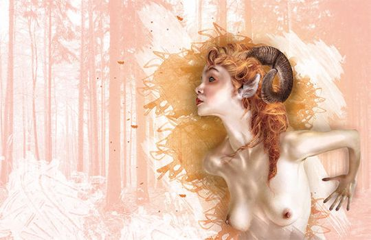 Faun by RylinnDesigns