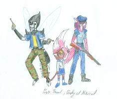My Little Zombie  Racoon City is Magic 1 by Loup-de-Feu