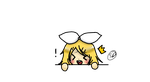Here. Have a smol transparent Rin. by Everything-Fan-666