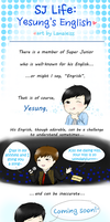 SJ Life : Yesung's English by Lanaleiss