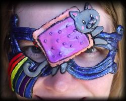 Nyan Cat Mask by Namingway