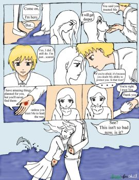 You and Jesus Coloring Comic 1 A Walk On the Waves by Peridot-for-Christ